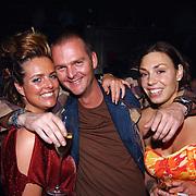 Playboyfeest 2003, Big Brother, Sabine Wendel, Tara van der Berg en vriend