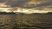 Sunrise, Sitka, Baranof Island, Alaska, USA