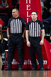 NORMAL, IL - November 10: Kelly Self and Tommy Short during a college basketball game between the ISU Redbirds and the Little Rock Trojans on November 10 2019 at Redbird Arena in Normal, IL. (Photo by Alan Look)