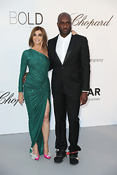 Carine Roitfeld and Virgil Abloh arrive at the amfAR Gala Cannes 2018 at Hotel du Cap-Eden-Roc on May 17, 2018 in Cap d'Antibes, France. Photo by Shootpix/ABACAPRESS.COM
