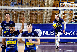 during 2nd Leg Volleyball match between ACH Volley and OK Merkur Maribor in Final of 1. DOL League 2020/21, on April 17, 2021 in Hala Tivoli, Ljubljana, Slovenia. Photo by Matic Klansek Velej / Sportida
