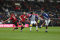 Football - 2017 / 2018 Premier League - AFC Bournemouth vs. West Bromwich Albion<br /> <br /> Salomon Rondon of West Bromwich Albion has a shot on goal blocked at Dean Court (Vitality Stadium) Bournemouth <br /> <br /> COLORSPORT/SHAUN BOGGUST