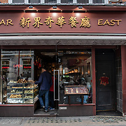 Far East in London Chinatown Sweet Tooth Cafe and Restaurant at Newport Court and Garret Street on 15 June 2019, UK.