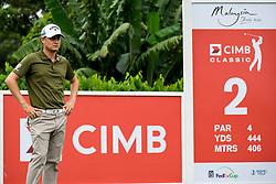 October 12, 2018 - Kuala Lumpur, Malaysia - Emiliano Grillo of Argentina in action during the second round of the CIMB Classic at TPC Kuala Lumpur on 12 October, 2018 in Kuala Lumpur, Malaysia  (Credit Image: © Chris Jung/NurPhoto via ZUMA Press)