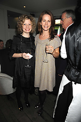 Left to right, NICOLA REMINGTON and DEBORAH BULL at a party to celebrate the launch of the Cowshed range of cosmetics in aid of the charity Hope & Homes for Children, held at 15-17 Old Compton Street, London on 19th November 2008.