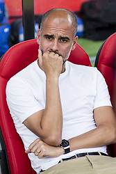 August 15, 2017 - Girona, Spain - 00 Pep Guardiola from Spain trainer of Manchester City during the Costa Brava Trophy match between Girona FC and Manchester City at Estadi de Montilivi on August 15, 2017 in Girona, Spain. (Credit Image: © Xavier Bonilla/NurPhoto via ZUMA Press)
