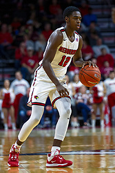 NORMAL, IL - November 29: Antonio Reeves during a college basketball game between the ISU Redbirds and the Prairie Stars of University of Illinois Springfield (UIS) on November 29 2019 at Redbird Arena in Normal, IL. (Photo by Alan Look)