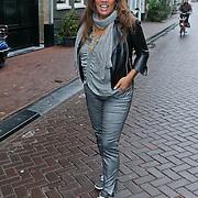 NLD/Amsterdam/20120126 - Lunch en opname pilot Dani Bles en Fab, Patty Brard