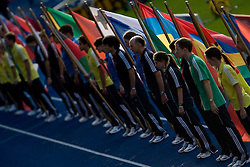 Opening ceremony at the 2009 IAAF Athletics World Championships on August 15, 2009 in Berlin, Germany. (Photo by Vid Ponikvar / Sportida)