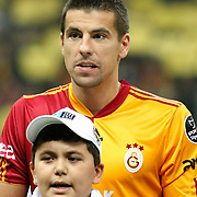 Galatasaray's Milan BAROS during their Turkish superleague soccer derby match Galatasaray between Fenerbahce at the Turk Telekom Arena in Istanbul Turkey on Friday, 18 March 2011. Photo by TURKPIX