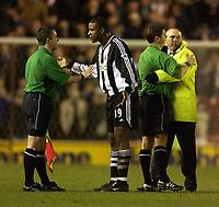 Fotball - Premier League - 05.03.2003<br /> Middlesbrough v Newcastle 1-0<br /> Titus Bramble - Newcastle<br /> Foto: Digitalsport