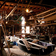 The Burnham Shipyard is the oldest continuously used shipyard in America, now operated by the 28th member of the Burnham family to build boats on the Essex River