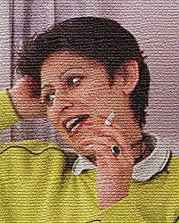 Portrait of resident of women only homeless hostel holding cigarette and talking,