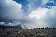 Squall over Taos, New Mexico, USA