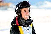 Dominique Rinderknecht, Teilnehmerin beim Renzo's Schneeplausch vom 23. Januar 2016 in Vella, Gemeinde Lumnezia.