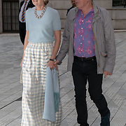 Sir Andrew Lloyd Webber and wife Madeleine arrivers at V&A - summer party, on 19 June 2019, London, UK