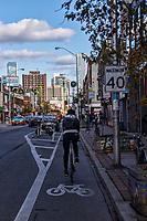 Cycling through Koreatown