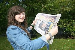 Amy MacDonald, the Connect festival in Inveraray.<br /> ©Pic : Michael Schofield.