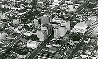 1934 Looking NW at Hollywood Blvd. & Vine St.