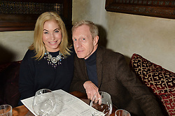 BRIX SMITH START and PHILIP START at the launch of Sunday Brunch at Momo's, 25 Heddon Street, London on 23rd February 2014.