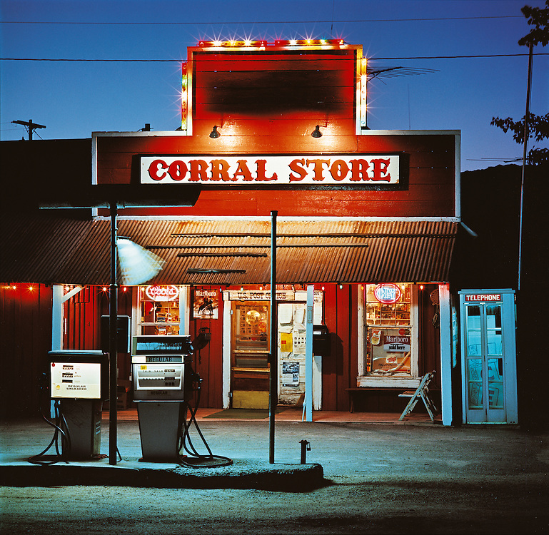 Editions of 25 include 32x32-48x48<br /> Small size print edition SOLDOUT<br /> Corral Store First Original Image<br /> Camas Praire in SW Idaho in the American West