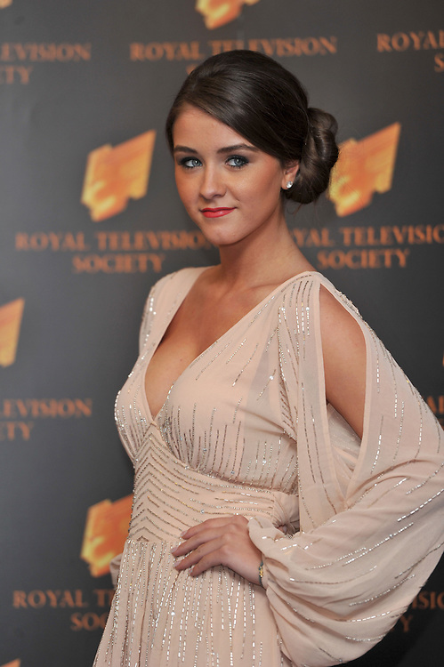 RTS Awards Held at the Grosvenor House Hotel London <br /> Corri Star Brooke Vincent <br /> Pix Dave Nelson
