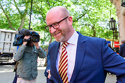 © Licensed to London News Pictures. 10/05/2017. London, UK. UKIP party leader PAUL NUTTALL seen in Westminster following a television appearance to discuss UKIP general election performance. Photo credit: Ben Cawthra/LNP