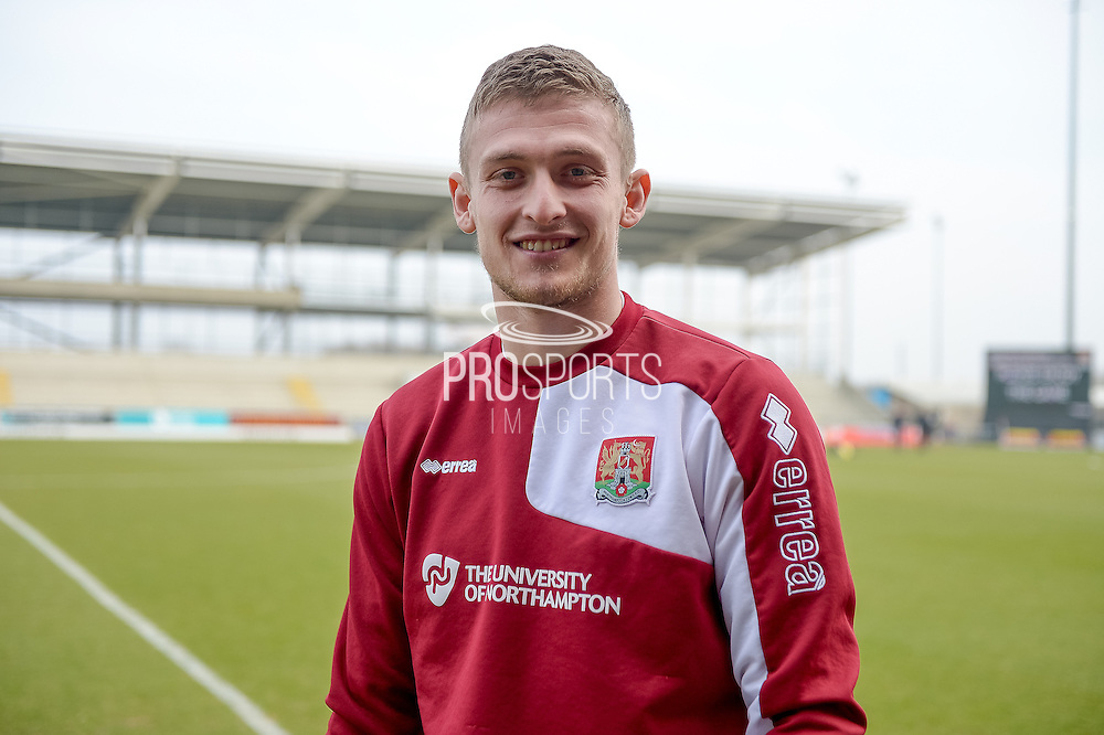 Northampton Town GoalKeeper Adam Smith  during the Sky Bet League 2 match between Northampton Town and Cambridge United at Sixfields Stadium, Northampton, England on 12 March 2016. Photo by Dennis Goodwin.