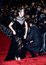 Stacy Martin attending the 72nd British Academy Film Awards held at the Royal Albert Hall, Kensington Gore, Kensington, London.