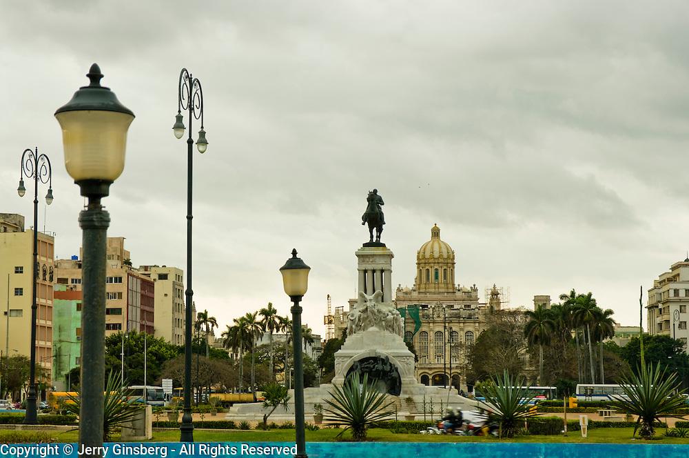 Central Havana, Havana Centro, Habana Centro seen from the harbor, Havana, Cuba.
