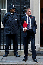 © London News Pictures. 30/10/2012. London, UK.      Secretary of State for Wales David Jones MP Leaving 10 Downing street after a cabinet meeting on October 10, 2012. Photo credit: Ben Cawthra/LNP