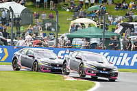 #22 Chris Smiley BTC Racing Honda Civic Type R FK8  during BTCC Rounds 13,14 and 15 at Oulton Park, Little Budworth, Cheshire, United Kingdom. June 30 2019. World Copyright Peter Taylor/PSP. Copy of publication required for printed pictures.
