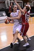 DESCRIZIONE : Roma Basket Campionato Italiano Femminile serie B 2012-2013<br />  College Italia  Gruppo L.P.A. Ariano Irpino<br /> GIOCATORE : Francesca Minali<br /> CATEGORIA : passaggio<br /> SQUADRA : College Italia<br /> EVENTO : College Italia 2012-2013<br /> GARA : College Italia  Gruppo L.P.A. Ariano Irpino<br /> DATA : 03/11/2012<br /> CATEGORIA : palleggio<br /> SPORT : Pallacanestro <br /> AUTORE : Agenzia Ciamillo-Castoria/GiulioCiamillo<br /> Galleria : Fip Nazionali 2012<br /> Fotonotizia : Roma Basket Campionato Italiano Femminile serie B 2012-2013<br />  College Italia  Gruppo L.P.A. Ariano Irpino<br /> Predefinita :