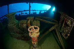 Schiffswrack Hamada, Schüttgut Frachter, südlich von Marsa Alam, Shipwreck Hamada, Bulk Carrier, Marsa Alam, Wadi Gimal, Rotes Meer, Ägypten, Red Sea Egypt