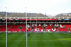General View before the match - Rogan Thomson/JMP - 11/12/2016 - RUGBY UNION - Ashton Gate Stadium - Bristol, England - Bristol Rugby v Pau - European Rugby Challenge Cup.