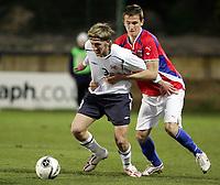 Fotball<br /> La Manga 2006<br /> Landskamp U17 / U17 tournament<br /> Norge v Tsjekkia / Norway v Czech Republic 1-1<br /> 26.02.2006<br /> Foto: Morten Olsen, Digitalsport<br /> <br /> Per Egil Flo - Sogndal
