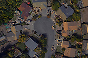 A Google Earth Pro rendering of Hemlock Court in Santa Rosa, Calif. The area was later devastated by the Tubbs Fire in October 2017.