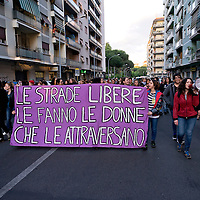 Demostration of women against sexual violence