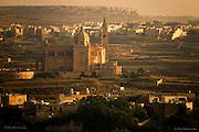 Gharbed in Warm Light, Ta' Pinu Sanctuary - Gharb, Gozo