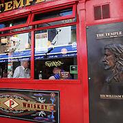 The Temple Bar Pub in Temple Bar, Dublin, Ireland. Photo Tim Clayton