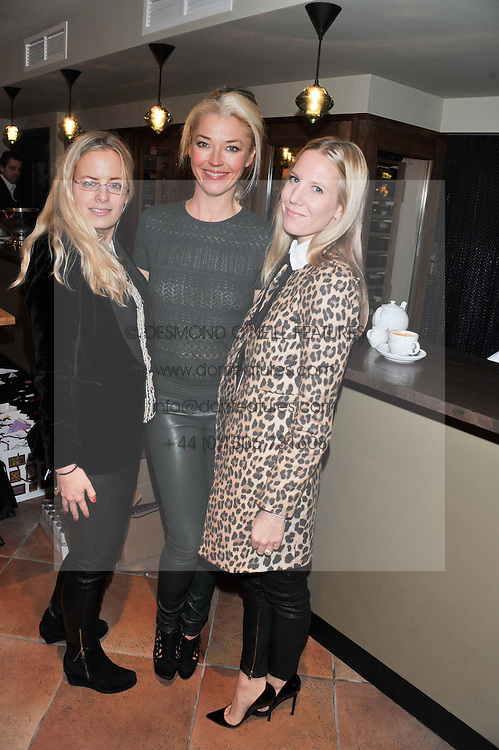 Left to right, ASTRID HARBORD, TAMARA BECKWITH and ALICE NAYLOR-LEYLAND at the Delicious Glamourous Girls Christmas Bazaar held at The Little Black Gallery & 11 Park Walk, Park Walk, London on 27th November 2012.