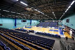 University of Worcester Arena, home to Worcester Wolves - Mandatory by-line: Robbie Stephenson/JMP - 05/10/2018 - BASKETBALL - University of Worcester Arena - Worcester, England - Bristol Flyers v Worcester Wolves - British Basketball League