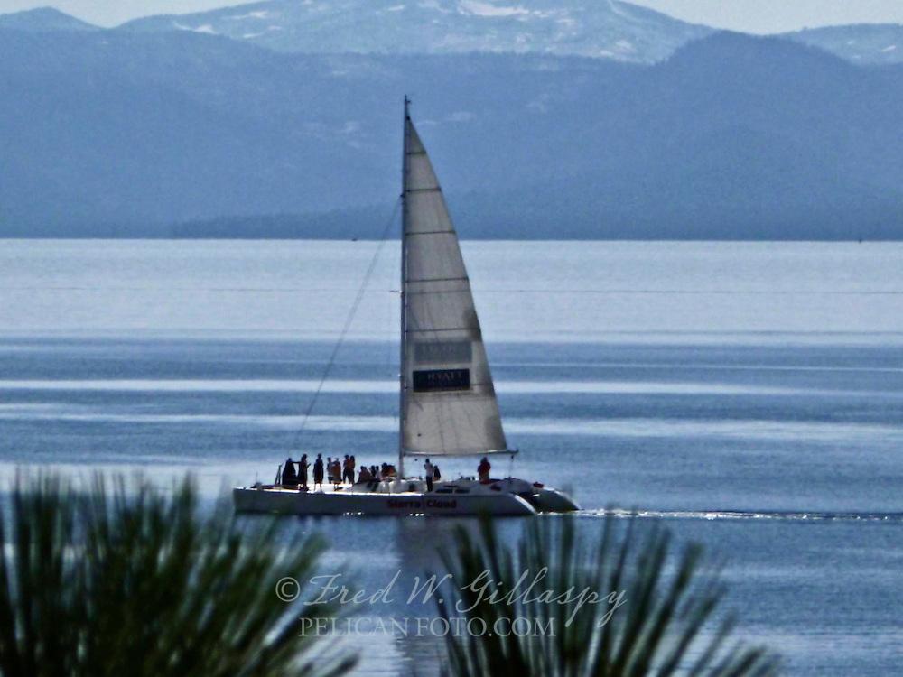 Sailing on Lake Tahoe I