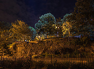 2016 06 24 Marcus Garvey Park lit from above by BMLS for the Harlem Arts Festival