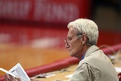 18 November 2016:  Bruce Yentes? during an NCAA women's volleyball match between the Northern Iowa Panthers and the Illinois State Redbirds at Redbird Arena in Normal IL (Photo by Alan Look)