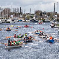 21e Roeirace Lemmer Iepen Frysk Kampioenskip Sloeproeien 2016
