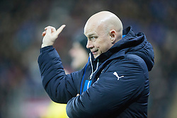 Rangers Manager, Kenny McDowall. Falkirk 1 v 1 Rangers, Scottish Championship game played 27/2/2014 at The Falkirk Stadium .