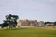 Holkham Hall, home of the Earl and Countess of Leicester, Norfolk, United Kingdom