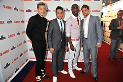 Pop group BLUE at the 2009 Glamour Magazine Awards held in Berkeley Square, London on 2nd June 2009.