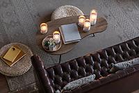 Фотосъемка для производителя декоративных насыпных свечей. Свечи в интерьере жилой квартиры.